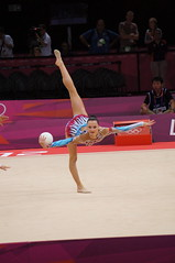 balance beam(0.0), floor gymnastics(0.0), uneven bars(0.0), individual sports(1.0), sports(1.0), performing arts(1.0), gymnastics(1.0), gymnast(1.0), entertainment(1.0), artistic gymnastics(1.0), rhythmic gymnastics(1.0),