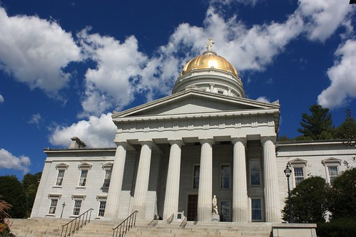 Vermont State House - United States