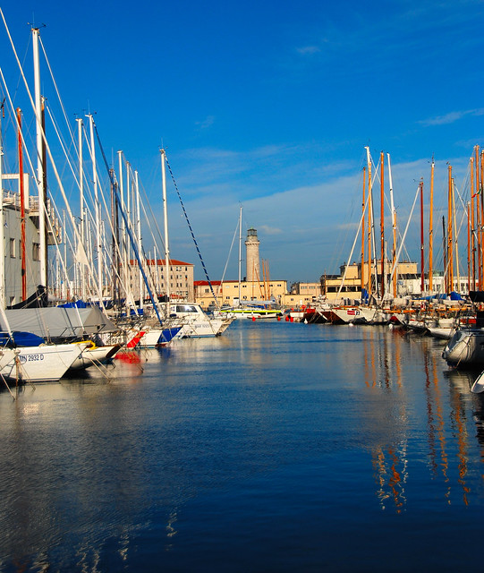 Trieste - A Daylightful View of the Harbour Lighthouse!