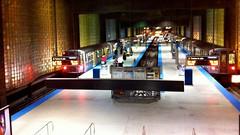 シカゴ空港 地下鉄駅