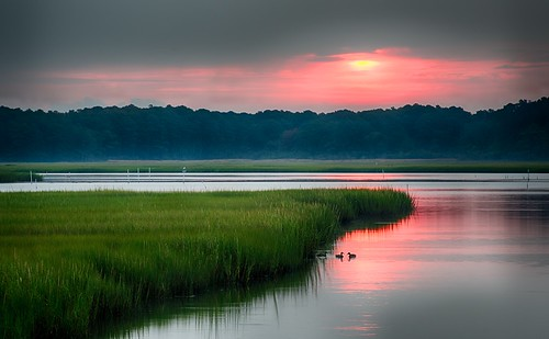 summer nature sunrise landscape outdoors virginia landscapes nikon assateague d800 tonemapped chincoteaguenationalwildliferefuge afsvrzoomnikkor70300mmf4556gifed borderfx photocontesttnc12