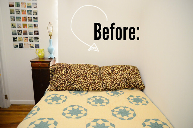 how to make a simple headboard