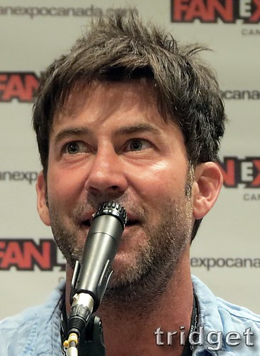 Joe Flanigan at Fan Expo Canada