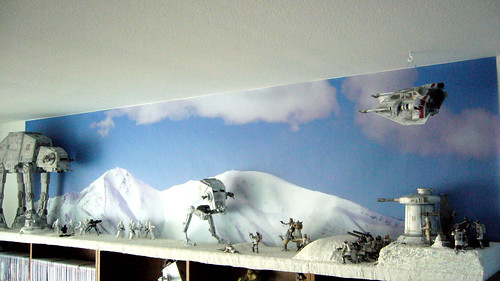 Hoth Battle Wallpaper Battle of Hoth Diorama Rebel