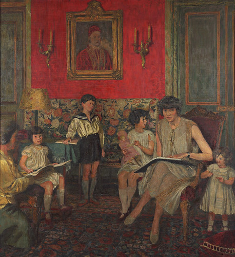 Edouard Vuillard, Madame Jean Bloch and Her Children