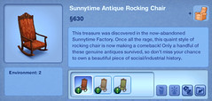 Sunnytime Antique Rocking Chair