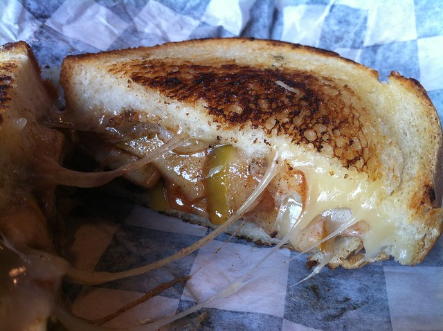 Say Cheese Philly | spiced apple and havarti grilled cheese | By ...