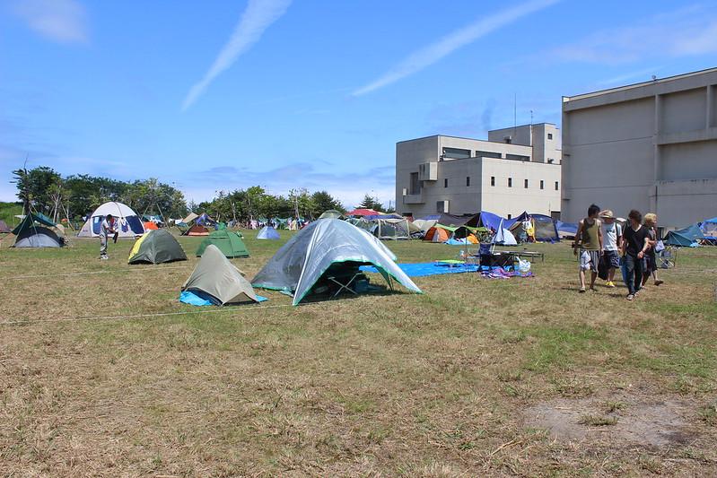 ねぶた祭特設キャンプ場