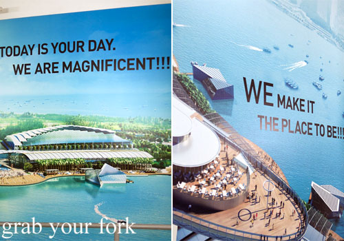 staff motivational slogans at marina bay sands singapore