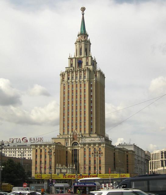 Hotel Leningradskaya, Moscow