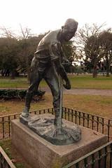 Buenos Aires - Recoleta: Plaza Rubén Darío - El Segador
