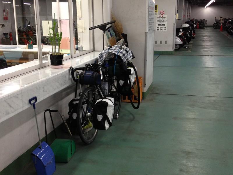 仙台の駐輪場