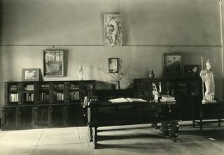 Westergaard Memorial Art Room in Carnegie Library in 1938