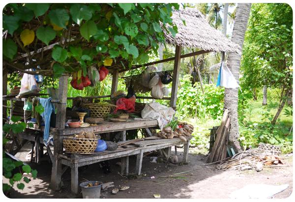 Nusa Penida - Cabane pour faire la sieste
