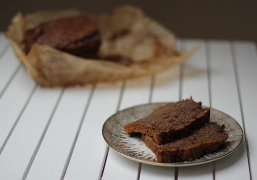 Schokoladen-Walnuss-Zucchini Kuchen