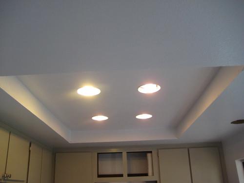 New recessed lighting