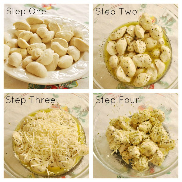 How to make Garlic Cheese Pull Apart Bread