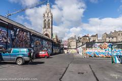 Street Art In Tivoli Car Park (Francis Street In Dublin)