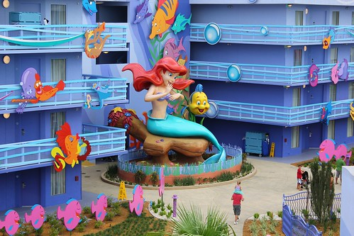 Inside The Little Mermaid Wing And Rooms Of Disney S Art