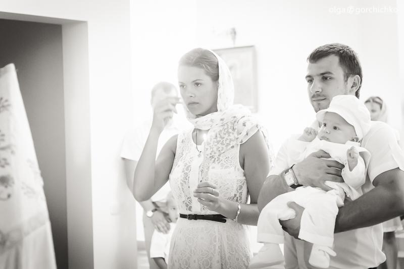 Крещение Егора