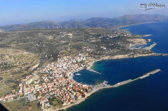 Samos Island from above!