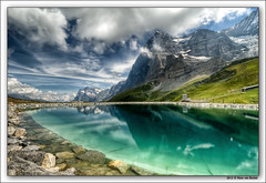 Fallboden - Eiger Nordwand