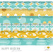 Happy Modern Gift Wrap Collection by sarahehlinger