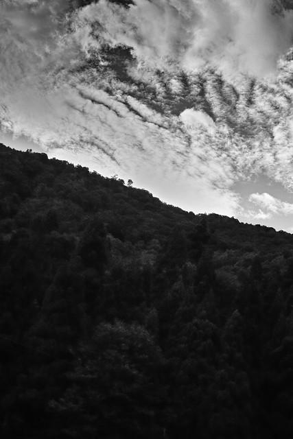 mountain sky echigo-tsumari