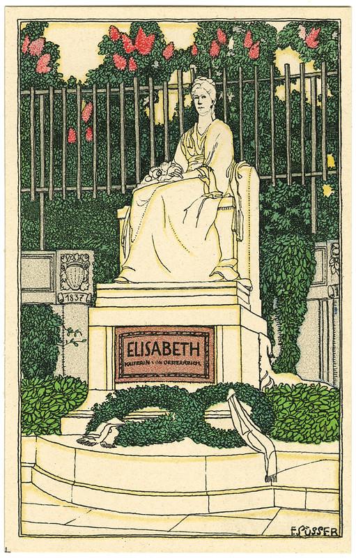 Wien - Kaiserin Elisabeth-Denkmal | Vienna, Empress Elisabeth Memorial