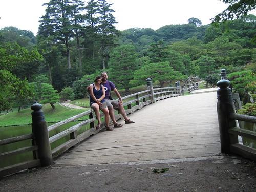 Hikone's Castle garden