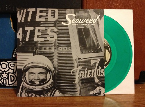 "Seaweed - Free Drug Zone 7"" - Green Vinyl by Tim PopKid"