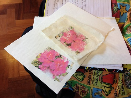 Annette Emms Image Transfer Workshop