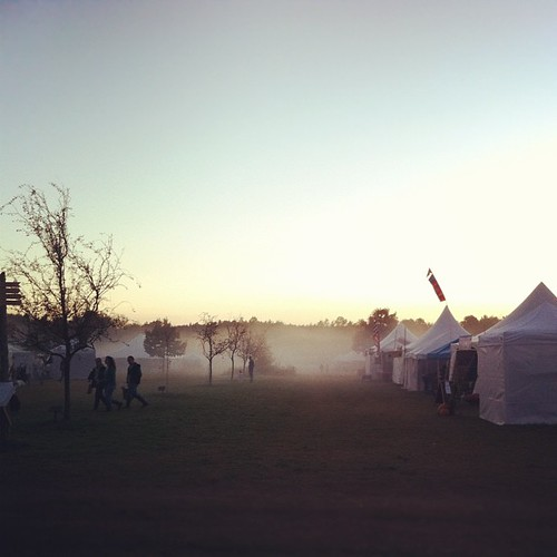 fog rolls in #commongroundfair #cgcf2012 #maine