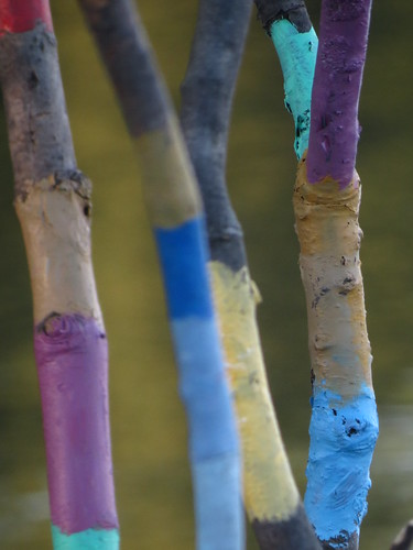 Painted Sticks 9