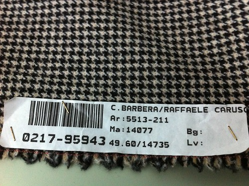 Carlo Barbera wool-cashmere houndstooth