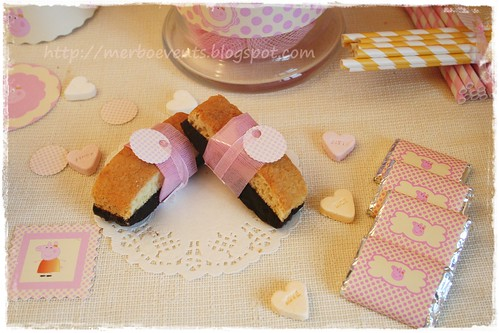 chocolatinas Merbo Events Kit Peppa Pig