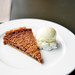 Pecan Tart with Vanilla Ice Cream