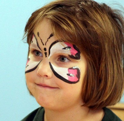 Face-painting for Happy Halloween Weekends