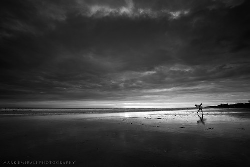 ocean light sunset sea newzealand sky blackandwhite cloud seascape art nature clouds canon landscape mono mood surfer theend surfing minimal auckland nz canon5d westcoast aotearoa lastlight muriwai copyrighted pleasedonotusewithoutmypermission markemirali markemiraliphotography