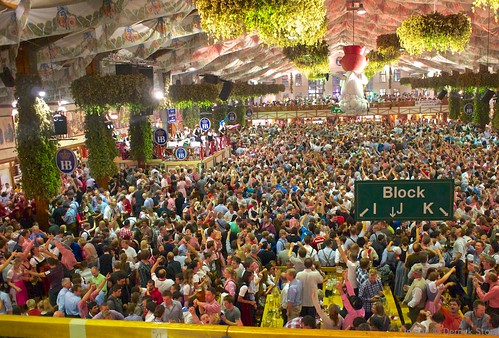 Oktoberfest Crowd