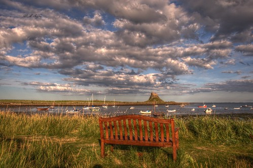 My hiking... Holy Island