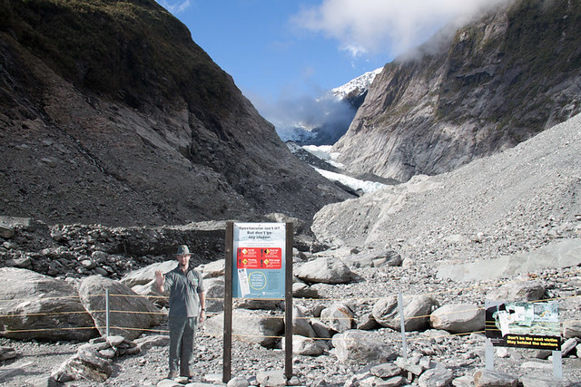 Franz Josef Glacier as close as you get