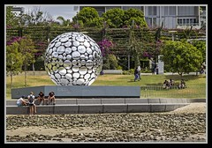 A ball of many mirrors-1=