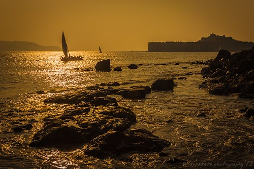 Sunset at Janjira Fort