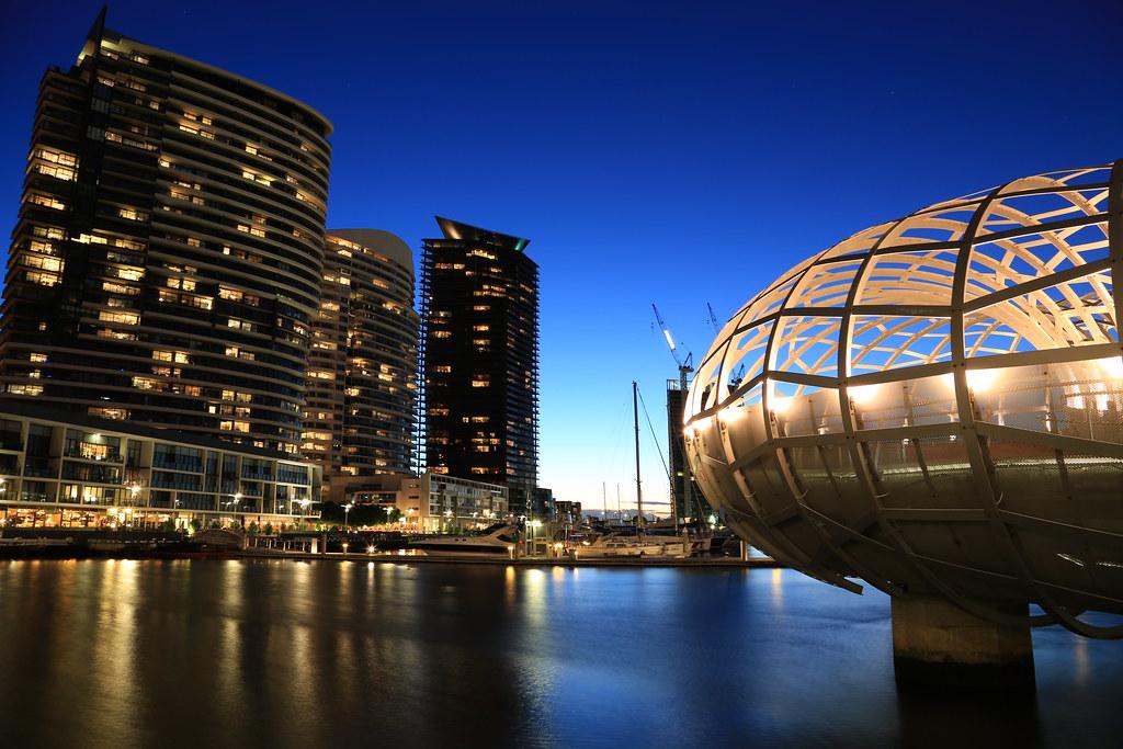 Webb Bridge Docklands , Melbourne