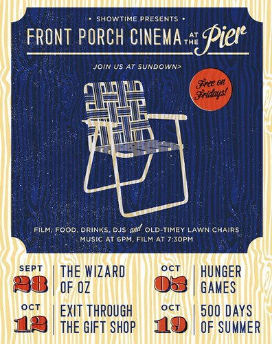 """Front Porch Cinema"": Free Movies at Santa Monica Pier"