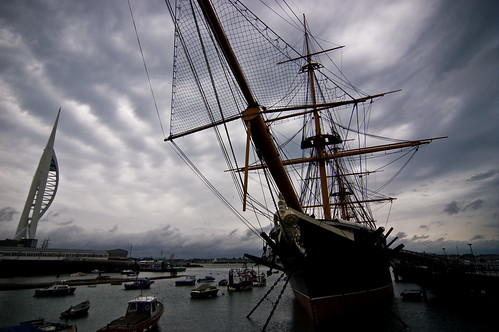 Portsmouth - Warrior at the Ready - 09-23-12