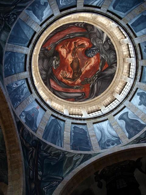 Centro cultural caba as flickr photo sharing for El hombre de fuego mural de jose clemente orozco