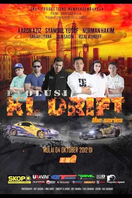 poster Evolusi KL Drift