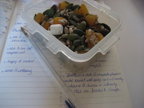 Trail mix - for lectures at lunchtime